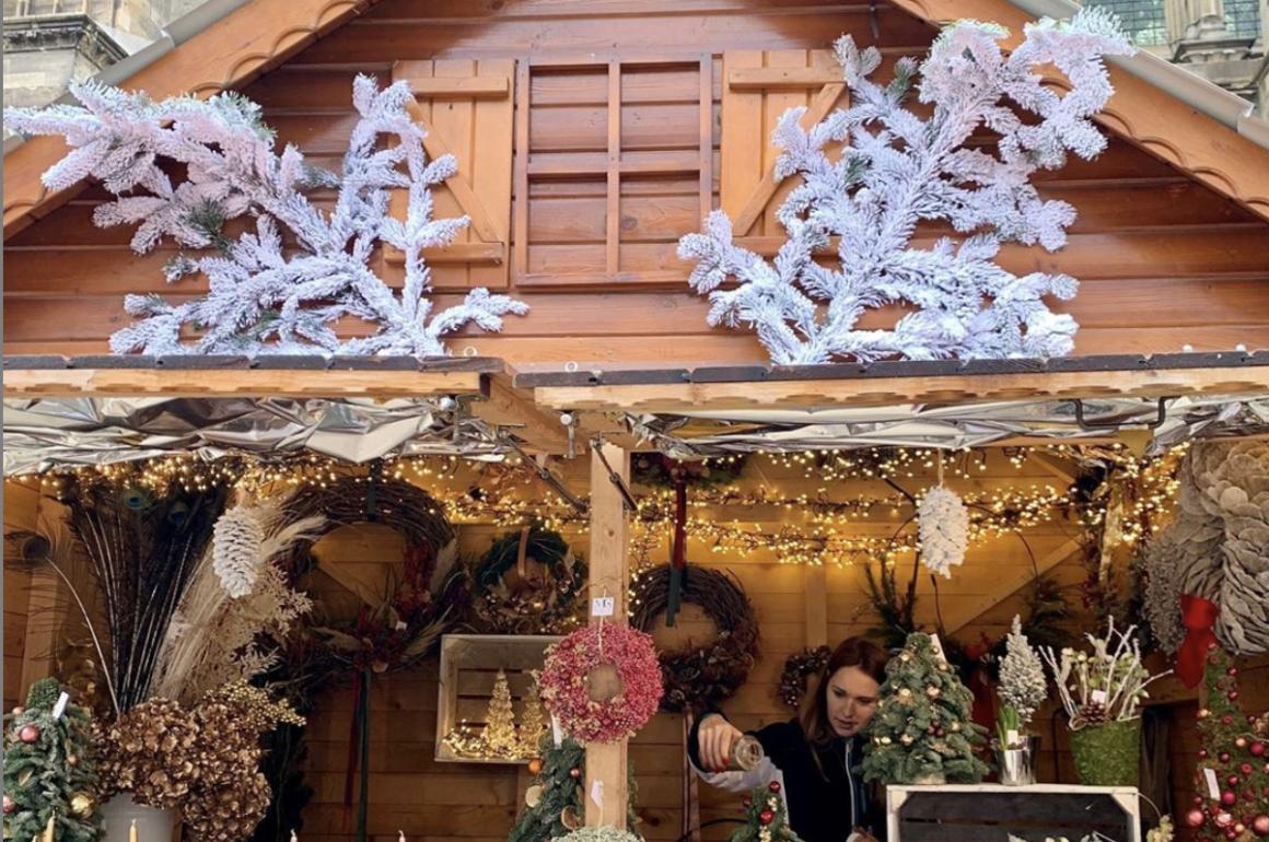 feira de natal em paris