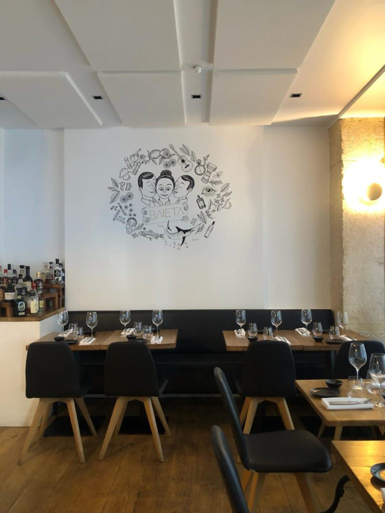 Baieta restaurante Paris